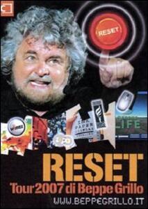 Reset. Con DVD - Beppe Grillo - copertina