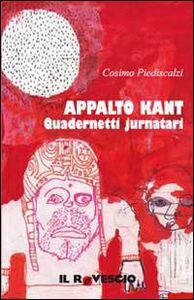 Appalto Kant. Quadernetti jurnatari