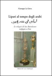 Lipari al tempo degli arabi - Giuseppe La Greca - copertina