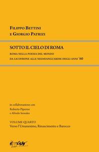 Sotto il cielo di Roma. Roma nella poesia del mondo da Licofronte alle neoavanguardie degli anni 60