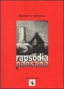 Rapsodia paesana - Michele A. Mancuso - copertina