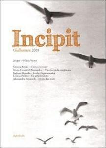 Incipit. Giallomare 2008 - copertina