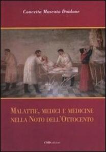 Malattie, medici e medicine nella Noto dell'Ottocento - Concetta Muscato Daidone - copertina