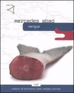 Sangue - Mercedes Abad - copertina