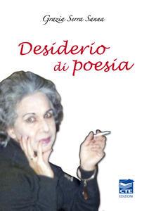 Desiderio di poesia - Grazia Serra Sanna - copertina