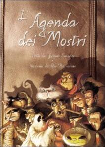 L' agenda dei mostri - Luciano Saracino - copertina