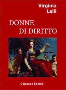 Donne di diritto - Virginia Lalli - copertina