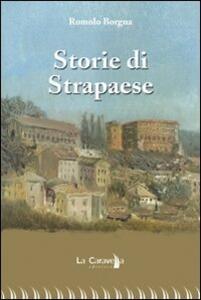 Storie di strapaese - Romolo Borgna - copertina