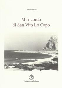 Mi ricordo di San Vito Lo Capo - Donatella Sole - copertina