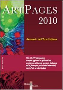 ArtPages 2010. Annuario dell'arte italiana - Mario Serra - copertina