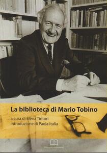 La biblioteca di Mario Tobino - copertina