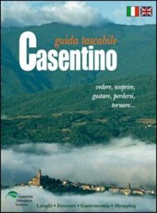 Guida tascabile del casentino. Ediz. italiana e inglese - copertina