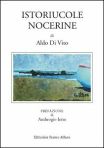 Istoriucole nocerine - Aldo Di Vito - copertina