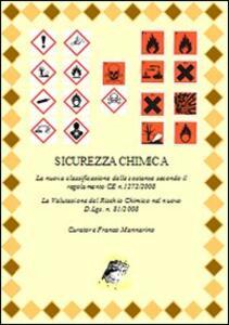 Sicurezza chimica. La nuova classificazione delle sostanze secondo il regolamento CE n. 1272/2008 - copertina