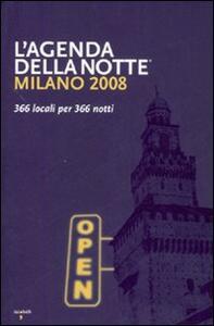 Milano 2008. 366 locali per 366 notti - copertina