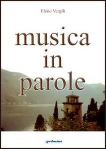 Musica in parole - Eleno Vergili - copertina