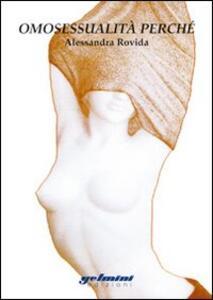 Omosessualità perché - Alessandra Rovida - copertina