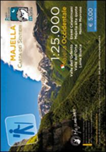 Majella carta dei sentieri. Majella Occidentale - copertina