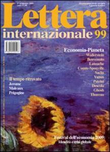 Lettera Internazionale. Vol. 99