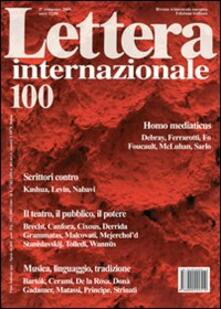 Lpgcsostenible.es Lettera Internazionale. Vol. 100 Image