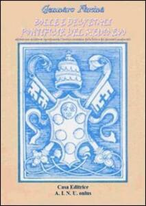 Bolle e decretali pontificie del Medio Evo - Gennaro Farina - copertina
