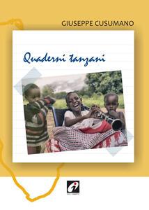 Quaderni tanzani - Giuseppe Cusumano - copertina