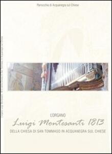L' organo Luigi Montesanti 1813 della chiesa di San Tommaso in Acquanegra sul Chiese - Federico Lorenzani - copertina