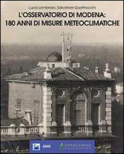 L' Osservatorio di Modena: 180 anni di misure meteoclimatiche