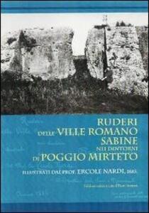 Ruderi delle ville Romano Sabine nei dintorni di Poggio Mirteto - Ercole Nardi - copertina