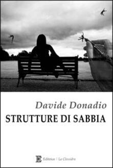Strutture di sabbia - Davide Donadio - copertina