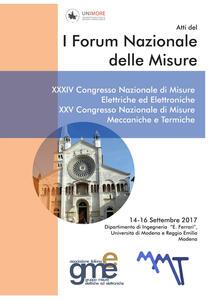 Atti del 1° Forum nazionale delle misure. 34° Congresso nazionale di misure elettriche ed elettroniche. 25° Congresso nazionale di misure meccaniche e termiche (Modena, 14-16 settembre 2017) - copertina