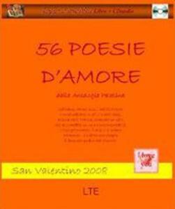 Cinquantasei poesie d'amore dall'Antologia palatina - copertina