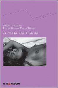 Il viola che è in me - Pietro Chiabra,Donatella Camatta,Tullio Colucci - copertina