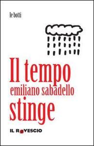 Il tempo stinge - Emiliano Sabadello - copertina