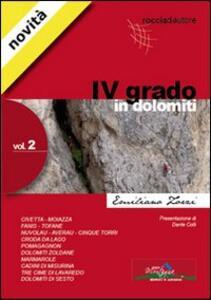 Quarto grado in Dolomiti. Vol. 2 - Emiliano Zorzi - copertina