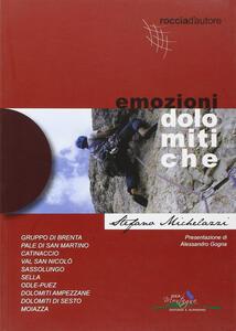 Emozioni dolomitiche. Ediz. illustrata - Stefano Michelazzi - copertina