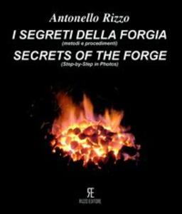 I segreti della forgia (metodi e procedimenti)-Secret of the forge (ste-by-step in photos) - Antonella Rizzo - copertina