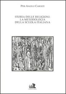 Storia delle religioni. La metodologia della scuola italiana - copertina