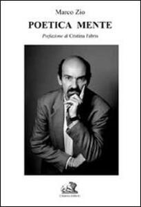 Poetica mente - Marco Zio - copertina