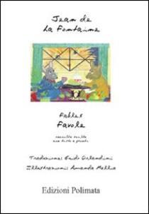Favole. Testo francese a fronte - Jean de La Fontaine - copertina