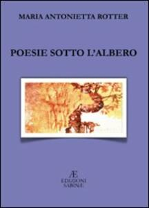 Poesie sotto l'albero - M. Antonietta Rotter - copertina