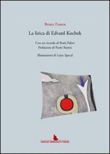 La lirica di Edoardo Kocbek - Boris Pahor - copertina
