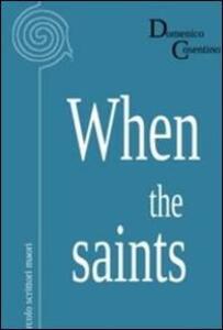 When the saints - Domenico Cosentino - copertina