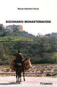 Dizionario monasteracese - Giosuè S. Ciccia - copertina