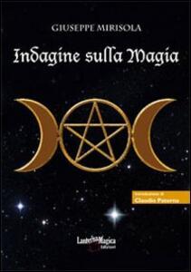 Indagine sulla magia - Giuseppe Mirisola - copertina