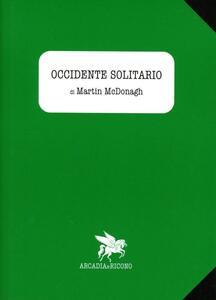 Occidente solitario - Martin McDonagh - copertina