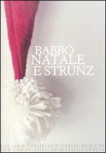 Babbo Natale è strunz - copertina