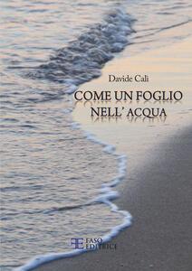 Come un foglio nell'acqua - Davide Calì - copertina