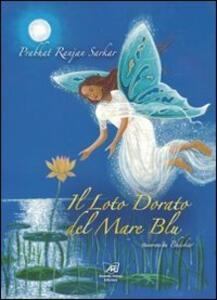Il loto dorato del mare blu