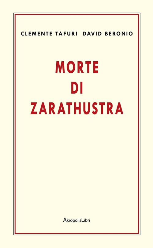 Morte di Zarathustra